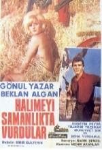 Halimeyi Samanlıkta Vurdular (1966) afişi