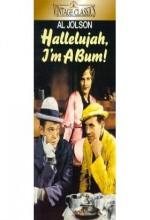 Hallelujah I'm A Bum (1933) afişi