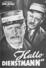 Hallo Dienstmann (1952) afişi