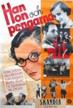 Han, Hon Och Pengarna (1936) afişi