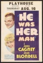 He Was Her Man (1934) afişi