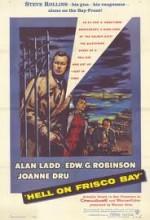 Hell On Frisco Bay (1955) afişi