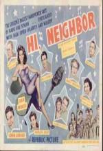 Hi, Neighbor (1942) afişi