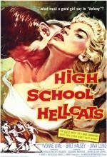 High School Hellcats (1958) afişi