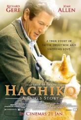 Hachi: Bir Köpeğin Hikayesi (2009) afişi