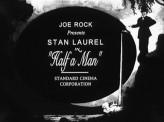 Half A Man (1925) afişi