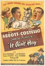 It Ain't Hay (1943) afişi