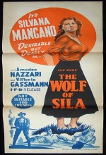 ıl Lupo Della Sila (1949) afişi
