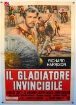 Il gladiatore invincibile (1961) afişi