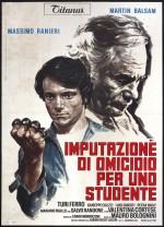 Imputazione di omicidio per uno studente (1972) afişi