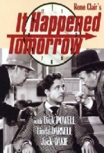 It Happened Tomorrow (1944) afişi
