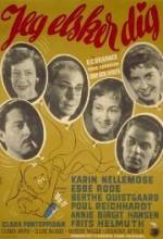 Jeg Elsker Dig (1957) afişi