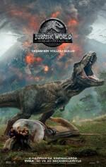 Jurassic World: Yıkılmış Krallık (2018) afişi