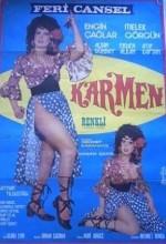 Karmen (1972) afişi