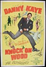Knock On Wood (1954) afişi
