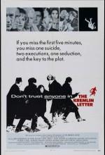 Kremlin Mektubu (1970) afişi