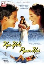 Kya Yehi Pyaar Hai (2002) afişi