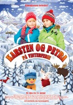 Karsten og Petra på vinterferie (2014) afişi
