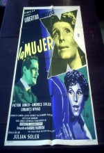 La Mujer X (1955) afişi