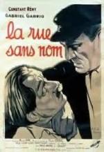 La Rue Sans Nom (1934) afişi