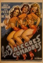 Las Tres Alegres Comadres (1952) afişi
