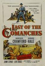 Last Of The Comanches (1953) afişi
