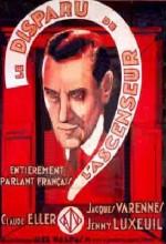 Le Disparu De L'ascenseur (1932) afişi