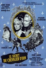 Le Secret Du Chevalier D'Éon (1959) afişi