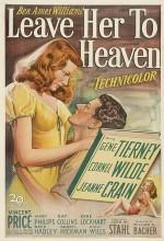 Leave Her To Heaven (1945) afişi