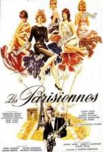 Les Parisiennes (1962) afişi