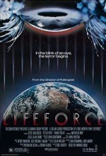 Lifeforce (1985) afişi
