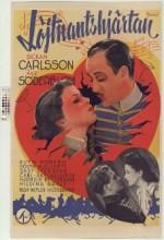 Löjtnantshjärtan (1942) afişi