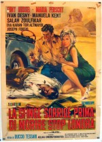 La sfinge sorride prima di morire - stop - Londra (1964) afişi