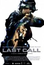 Last Call (2013) afişi