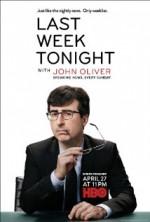 Last Week Tonight with John Oliver (2014) afişi