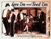 Love 'em And Feed 'em (1927) afişi