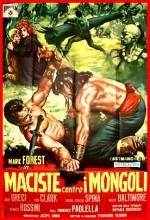 Maciste contro i Mongoli (1963) afişi