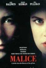 Malice (1993) afişi
