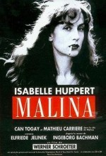 Malina (1991) afişi