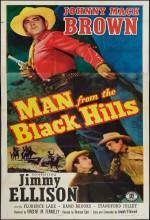 Man From The Black Hills (1952) afişi
