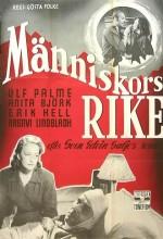 Manniskors Rike (1949) afişi