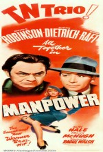 Manpower (1941) afişi