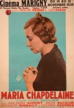 Maria Chapdelaine (ı) (1934) afişi