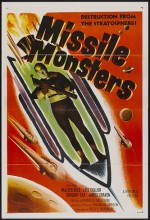 Missile Monsters (1958) afişi
