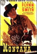 Montana (1950) afişi