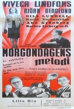 Morgondagens Melodi (1942) afişi