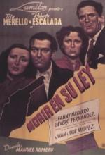 Morir En Su Ley (1949) afişi