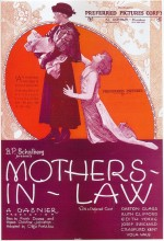 Mothers-in-law (1923) afişi
