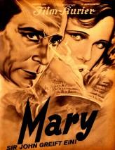 Mary (1931) afişi