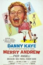 Merry Andrew (1958) afişi